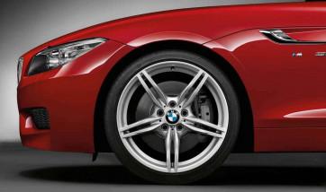 BMW Alufelge M Doppelspeiche 326 9J x 19 ET 40 Silber Hinterachse BMW Z4 E89