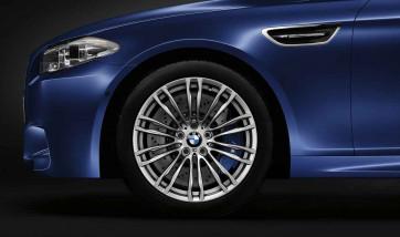 BMW Alufelge M Doppelspeiche 345 ferricgrey 10J x 19 ET 34 Hinterachse BMW 5er F10 (M5)