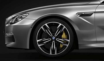 BMW Alufelge M Doppelspeiche 433 orbitgrey 9,5J x 20 ET 31 Vorderachse M6 F06 F12 F13