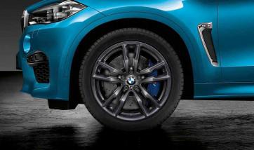 BMW Alufelge M Doppelspeiche 611 orbitgrey 10J x 20 ET 40 Vorderachse X5M F85 X6M F86