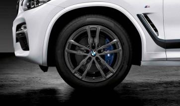 BMW Alufelge M Doppelspeiche 698 orbitgrey 7,5J x 19 ET 32 Vorderachse / Hinterachse X3 G01 X4 G02