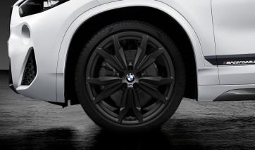 BMW Kompletträder M Doppelspeiche 717 schwarz matt 20 Zoll X1 F48 X2 F39 RDCi