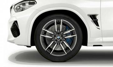 BMW Alufelge M Doppelspeiche 764 orbitgrey 9J x 20 ET 28 Vorderachse X3M F97 X4M F98