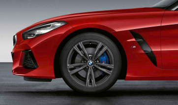 BMW Alufelge M Doppelspeiche 798 orbitgrey 10J x 18 ET 40 Hinterachse Z4 G29