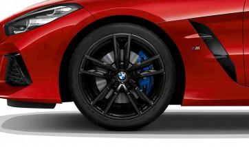 BMW Alufelge M Doppelspeiche 799 schwarz 10J x 19 ET 40 Hinterachse Z4 G29
