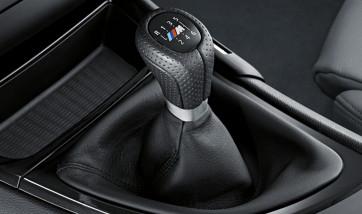BMW M Leder Sportschaltknauf 6-Gang 1er E87