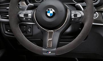 BMW M Performance Abdeckung Alcantara / Carbon X5 F15 X6 F16