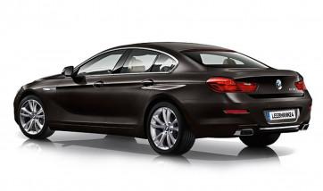 BMW M Performance Blende Stoßfänger hinten darkshadow 6er F06GC F12 F13