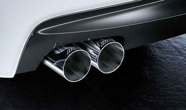 BMW M Performance Einsatz Stoßfänger hinten 3er F30 F31