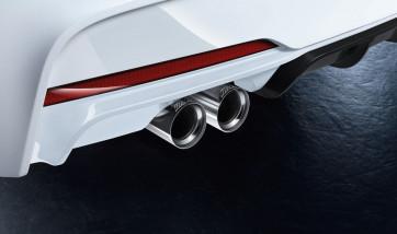 BMW M Performance Schalldämpfer 3er F30LCI F31LCI (330i/X) 4er F32 F33 F36 (430i/X) Automatikgetriebe