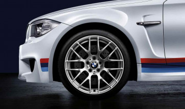 BMW Alufelge M Performance Y-Speiche 359 silber 9J x 19 ET 31 Vorderachse 1er M E82 M3 E90 E92