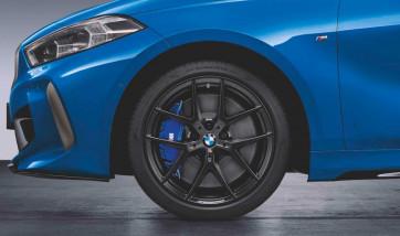 BMW Kompletträder M Performance Y-Speiche 554 jet black matt 18 Zoll 1er F40 2er F44 RDCi