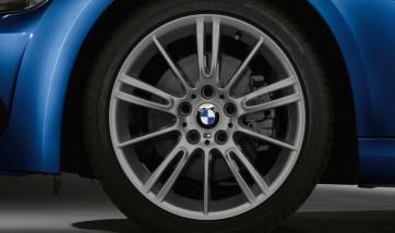 BMW Alufelge M Sternspeiche 193 ferricgrey 8J x 18 ET 34 Vorderachse 3er E90 E91 E92 E93