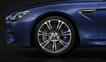 BMW Alufelge M Sternspeiche 344 silber 10,5J x 19 ET 19 Hinterachse BMW 6er F06 F12 F13 (M6)