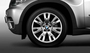 BMW Kompletträder M V-Speiche 223 silber 19 Zoll X5 E70