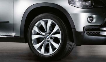 BMW Alufelge M V-Speiche 227 silber 11J x 20 ET 35 Hinterachse X5 E70