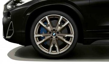 BMW Alufelge M V-Speiche 721 ceriumgrey 8J x 20 ET 50 Vorderachse / Hinterachse X1 F48 X2 F39