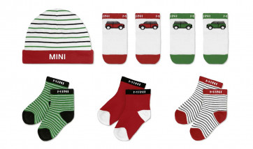 MINI Baby Geschenkset Cars and Stripes