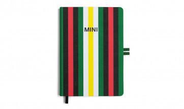 MINI Striped Notizbuch