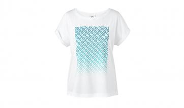 MINI Damen T-Shirt weiß (Signet)