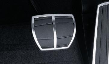 BMW Pedalüberzug mit Edelstahleinlage 1er E81 E87 LCI 3er E90 E91 E92 E93 (nur LCI) X3 E83 LCI X5 E70 LCI X6 E71