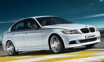 BMW Performance Aerodynamik-Paket Seitenschweller grundiert 3er E90 E91