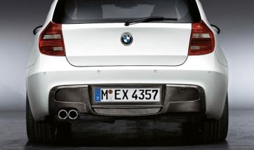 BMW Performance Diffusor Carbon für das M-Aerodynamik-Paket 1er Coupe E82 und Cabrio E88