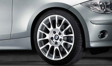BMW Alufelge Radialspeiche 216 8,5J x 18 ET 37 Silber Hinterachse BMW 3er E90 E91 E92 E93