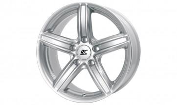 RC-Design Kompletträder RC21 kristallsilber 17 Zoll 3er F30 F31 5er E60 E61