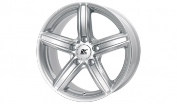 RC-Design Alufelge RC21 kristallsilber 7,5J x 17 ET 43 Vorderachse / Hinterachse 1er E81 E82 E87 E88 F20 F21 3er E46 Z4 E85 E86
