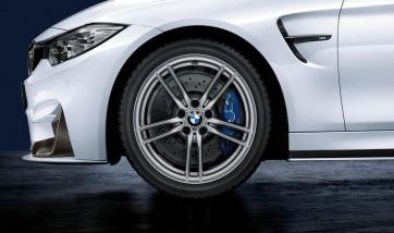 BMW Alufelge M V-Speiche 641 dekorsilber 8,5J x 19 ET 27 Vorderachse M2 F87 M3 F80 M4 F82 F83