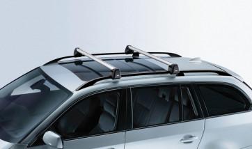 BMW Grundträger, abschließbar, 5er Touring E61 mit Reling