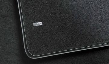 BMW Fußmatten hinten Textil schwarz 5er F07 GT bis 07/2013 - BMW & MINI Fußmatten  - leebmann24.de