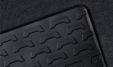 BMW Satz Gummimatten vorne, passend für X3 E83 / E83LCI
