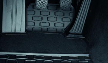 BMW Satz Gummimatten vorne, passend für 6er E63 / E63LCI