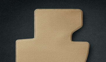 BMW Fußmatten Velours vorne/hinten sandbeige X3 E83 von Baujahr 09/2004 bis 01/2006