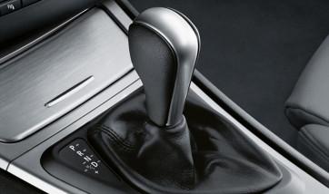 BMW Schaltknauf Leder Chromspange 1er E81 E82 E87 E88 3er E90 E91 X1 E84 Z4 E89 Sport-Automatikgetriebe