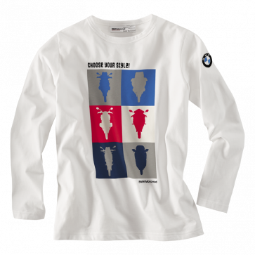 BMW Shirt Logo, Kinder, weiß