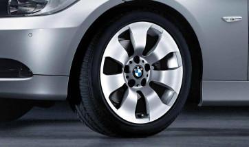 BMW Alufelge Sternspeiche 158 silber 8J x 17 ET 34 Vorderachse / Hinterachse 3er E90 E91 E92 E93