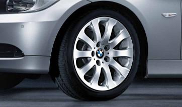 BMW Alufelge Sternspeiche 159 silber 8J x 17 ET 34 Vorderachse / Hinterachse 3er E90 E91 E92 E93