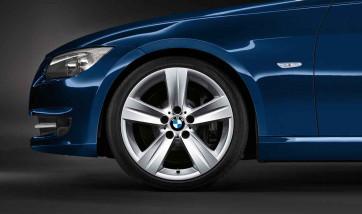 BMW Alufelge Sternspeiche 189 8,5J x 18 ET 37 Silber Hinterachse BMW 3er E90 E91 E92 E93