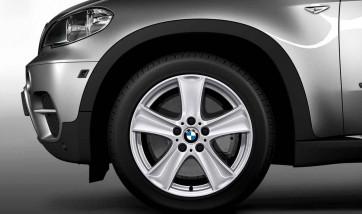 BMW Alufelge Sternspeiche 209 silber 8,5J x 18 ET 46 Vorderachse / Hinterachse X5 E70