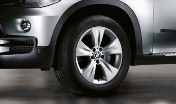 BMW Alufelge Sternspeiche 213 silber 9J x 19 ET 48 Vorderachse / Hinterachse X5 E70