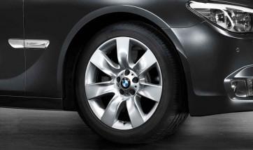 BMW Alufelge Sternspeiche 251 9,5J x 19 ET 39 Silber Hinterachse BMW 5er F07 7er F01 F02 F04