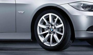BMW Alufelge Sternspeiche 286 silber 8J x 17 ET 34 Vorderachse 3er E90 E91 E92 E93
