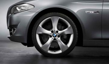 BMW Alufelge Sternspeiche 311 silber 8,5J x 21 ET 25 Vorderachse 5er F07 7er F01 F02 F04