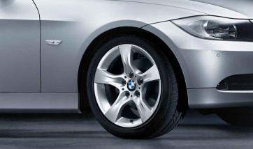 BMW Alufelge Sternspeiche 339 8J x 17 ET 34 Silber Vorderachse / Hinterachse BMW 3er E90 E91 E92 E93