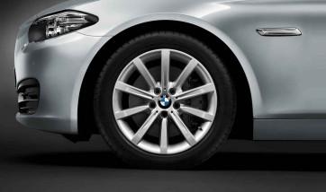 BMW Alufelge Sternspeiche 365 silber 8J x 18 ET 30 Vorderachse / Hinterachse 5er F10 F11 6er F06 F12 F13