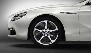BMW Alufelge Streamline 364 silber 8J x 18 ET 30 Vorderachse / Hinterachse (rechte Fahrzeugseite) BMW 5er F10 F11 6er F12 F13