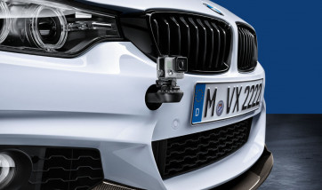 BMW M Performance Halter GoPro Kameras Track Fix